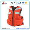 Orange Color Big Buoyancy 4 Pockets Fishing Life Vest