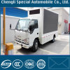 Mobile Outdoor 4X2 Isuzu Alloy Steel Frame Mobile LED Screen Truck