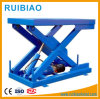 1ton Movable Electric Hydraulic Scissor Lift Work Table for Lifting Pallet