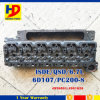 Excavator Engine Qsb6.7 6D107 PC200-8 Engine Cylinder Head for Komatsu