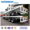 Two-Axle Flatbed Container Semi Truck Trailer Hot Sale