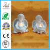 Polyresin Craft Angle with LED Lighting for Garden Decoration