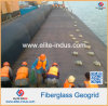 Bitumen Coated Fiberglass Uniaxial Geogrid for Base Stabilization