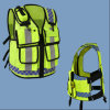 Hot Sale High Way Police Reflective Wear Safety Vests