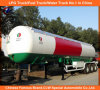 49.6m3 LPG Road Tanker 50000liters LPG Trailer