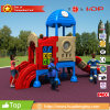 2017 The Hotest Sale Classic Small Plastic Outdoor Playground for Kids