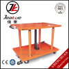2017 Newest 100-1000kg Pedal Hydraulic Pump Lifting Movable Lift Table