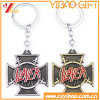 Factory Custom Tourism Souvenir Metal Gold Key Chain for Promotion Gift