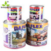 Factory Outlet 750ml Round Metal Tin Can with Lever Lid