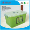 Hot Sale Household Plastic Products Transparent Plastic Storage Box Food Container Gift Box with Handles (20L)