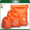 Fashion Set Popular Promotional Polyester Drawstring Bag