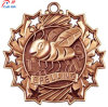 Customize High Quality Antique Plating Honeybee Metal Medal