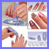 New TV Product Salon Express PRO Nail Art Decals Stamping Polish Design Kit Set DIY Nail Tool (TV109)