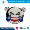 Cheap Metal Enamel Hot Sale Magnet Pin Badge Manufacturers Smiley Face Promotional Camera Pin Badge (496)