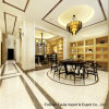 600X600mm Building Material Ivory White Soluble Salt Polished Porcelain Floor Tile (TJ6000)