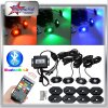 Bluetooth Control 4/6/8/12 Pods Kit RGB LED Rock Light for Car