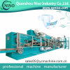 Low Speed Low Capacity Semiautomatic Disposable Baby Nappy Baby Diaper Machine for New Manufacturer