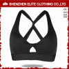 Women Clothinglatest Gym Wear Yoga Bra Black (ELTSBI-21)
