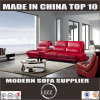 Red Functional Leather Sofa Lz011