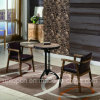 Durable Restaurant Furniture Set with Ash Wooden Chair and Cast Iron Table (SP-CT783)