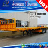 High Quality Second Hand 40ft Container Flatbed Trailer for Philippines
