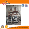 Double Head Plastic Film Blowing Making PE Film Blown Extruder