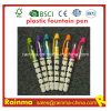 Plastic Liquid Fountain Pen with Nice Print Color