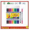 Double Tip Water Color Pen for School Stationery Supply