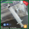 Plastic Syringe with Luer Lock Cap for Cosmetic Cream