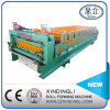 Cameroon Popular Double Deck Roll Forming Machinery
