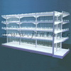 Metal Shelf, Combination Shelf, White Shelf, Factory Direct Shelf
