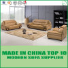 Popular Chinese Style Top Grain Leather Sofa Set