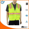 Safety Vest with 4 Lower Pockets 2 Chest Pockets