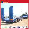 4 Axle 100ton Lowboy Low Bed Truck Semi Trailer