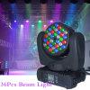 Professional LED Bulb 36*3W DMX LED Beam Moving Head Lighting