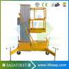 12m Mobile Electric Vertical Aerial Mast Work Platform