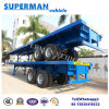 Utility Bogie Axle 40FT Flatbed Cargo Trailer for Sales