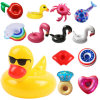Hot Inflatable Swimming Pool Float Cup Drink Beer Holder Zwembad Table Bar Tray Summer Swimming Party Toys Beach Accessories