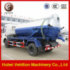 White High Pressure Fecal Suction Truck