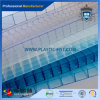 Blue Skylight Polycarbonate Hollow Roofing Sheet