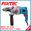 Fixtec 600W China Electric Impact Hand Drill Z1j 13mm