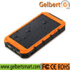 Waterproof Li-Polymer Battery RoHS Solar Cell Phone Charger Power Bank