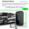 Car GPS Tracker with GPS+Lbs Dual Mode Location (A10)