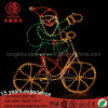 LED Santa Clause Snowman Motif Christmas Light for Street