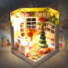 DIY Wooden Dollhouse Christmas Theme as Gift