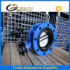 Worm Gear Flanged Connection Butterfly Valve