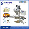 Semi-Auto Powder Filling Machine with Auger in Bags or Bottles