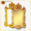 Baroque Style Plastic Mirror Frame (PUJK13-J)