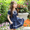 Salor Style School Uniform Girls Pinafore Dress