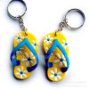 Slipper Soft PVC Keyholder with Logo